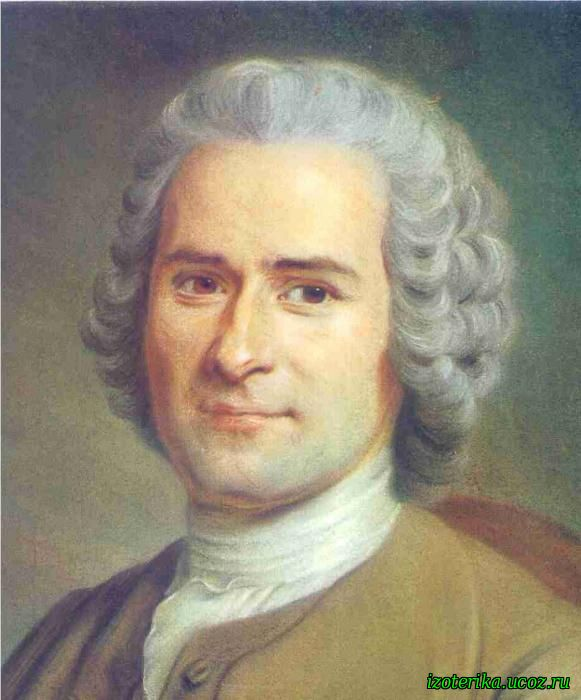 Jean jacques rousseau is a 1 panel oil canvas art piece in a classicism art style by famous artist ramsay allan